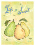 Life is Sweet Affiches par Flavia Weedn