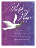 Peaceful Prayer Print by Flavia Weedn