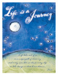 Life is a Journey Affiches par Flavia Weedn