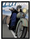 Freedom Rider Wydruk giclee
