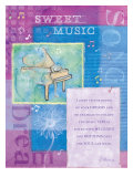 Sweet Music Giclee Print by Flavia Weedn