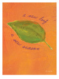 A New Leaf Prints by Flavia Weedn