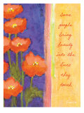 Poppy Beauty Prints by Flavia Weedn