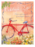Celebrate, Life is a Journey Art by Flavia Weedn
