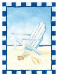 A Day at the Beach Giclee Print by Flavia Weedn