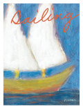 Sailing Poster by Flavia Weedn
