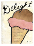 Simple Delight Print by Flavia Weedn