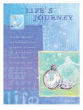 Life&#39;s Journey II Poster von Flavia Weedn