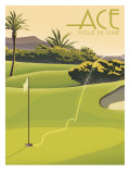 Hole in One Giclee Print