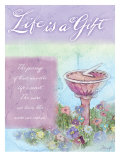 Life is a Gift Print by Flavia Weedn