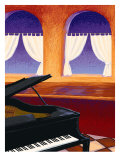 Piano Bar Giclee Print