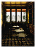 Interieur Bistro A Vin Giclee Print by Andre Renoux