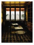 Interieur Bistro A Vin Prints by Andre Renoux