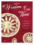 Celestial Wisdom of the Heart Wydruk giclee autor Flavia Weedn
