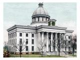 Montgomery State Capitol, Alabama Giclee Print