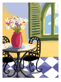 Cafe Giclee Print