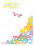 No Worries, Butterflies Posters