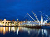 Great Crane by Renzo Piano, Genoa (Genova), Liguria, Italy, Europe Photographic Print by Christian Kober