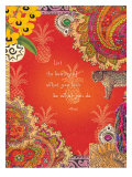 Beauty Paisley Affiches