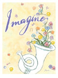 Imagine Joy Poster by Flavia Weedn