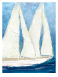 The Sailboat Cruise Art by Flavia Weedn