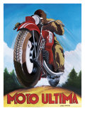 Moto Ultima Affiche par Chris Flanagan