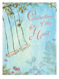 Celebrations of the Heart Poster von Flavia Weedn