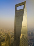 Shanghai World Financial Center, Shanghai, China Photographic Print by Michael DeFreitas