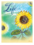 Sunflower Life Giclee Print by Flavia Weedn