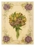 Hydrangeas And Tulips Prints by Shari White