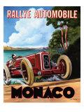 Rallye de Monaco Affiches par Chris Flanagan