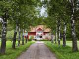 Farmhouse, Varmland, Sweden, Scandinavia, Europe Photographic Print by Jochen Schlenker