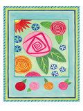 Mod Flower 3 Prints by Jennifer Brinley