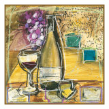 Wine And Cheese II Giclee Print by Tanya M. Fischer