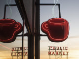 Pike Place Market, Seattle, Washington State, Usa Photographic Print by Aaron McCoy