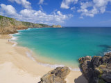 Porthcurno Beach, Cornwall, England, United Kingdom, Europe Photographic Print by Neale Clark