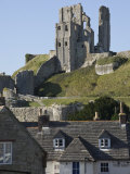 Corfe Castle, Built under Instructions of William the Conquerer, Dorset, England, United Kingdom Photographic Print by James Emmerson