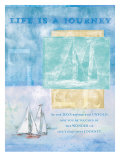 Life is a Journey II Poster von Flavia Weedn