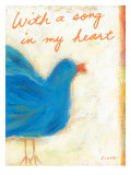 A Song in My Heart Giclee Print by Flavia Weedn