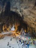 Hindu Shrine in Temple Cave at Batu Caves, Kuala Lumpur, Malaysia, Southeast Asia, Asia Photographic Print by Christian Kober