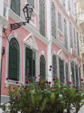 Portuguese Colonial Architecture, Macau, China, Asia Photographic Print by Ian Trower