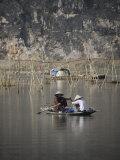 Fisherwomen, Ninh Binh, Vietnam, Indochina, Southeast Asia, Asia Photographic Print