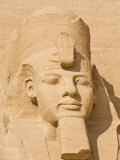 Giant Statue of the Great Pharaoh Rameses Ii, Temple Rameses Ii at Abu Simbel, Egypt Photographic Print by Neale Clark