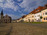 Town Square, Bardejov, UNESCO World Heritage Site, Slovakia, Europe Photographic Print by Michael Runkel