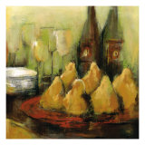 Dessert Pears Giclee Print by Christina Doelling