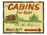 Cabin Rentals Prints by Grace Pullen