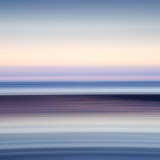 Abstract Image of the View from Alnmouth Beach to the North Sea, Alnmouth, England, UK Photographic Print by Lee Frost