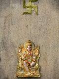 Ganesh and Swastika, Batu Caves, Kuala Lumpur, Malaysia, Southeast Asia, Asia Photographic Print by  Godong