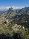 Valley of Vallehermoso, La Gomera, Canary Islands, Spain, Europe Photographic Print by Michael Runkel