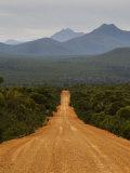 Gravel Road, Stirling Range, Stirling Range National Park, Western Australia, Australia, Pacific Photographic Print by Jochen Schlenker